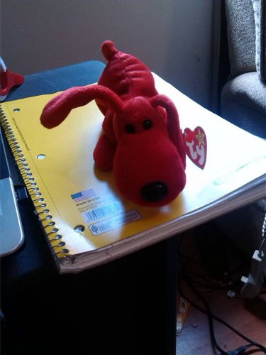 Ty Stuffed Animal Red Puppy