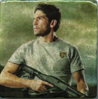 Jon Bernthal Walking Dead Art Tile Coaster Home Decor Shane Walsh Paperweight