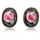 Bohemian Style Retro Rose Earrings