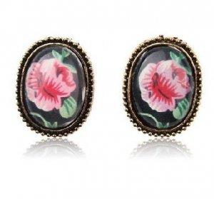 Bohemian Style Retro Rose Earrings