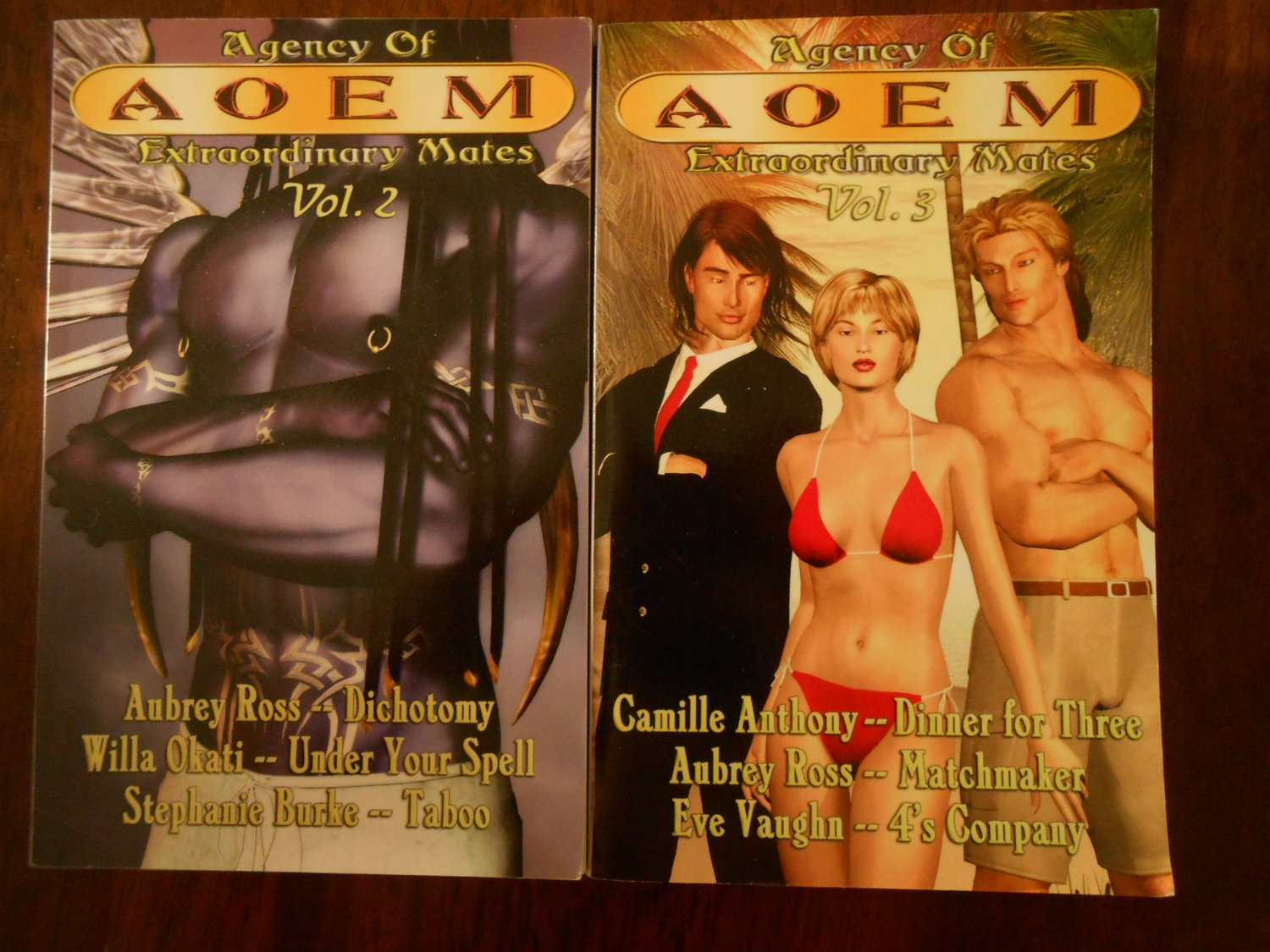 AGENCY OF EXTRAORDINARY MATES, VOLS. 2 & 3 by Camille Anthony, Aubrey Ross, etc