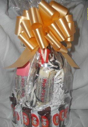 Handmade Candy Bar Cake Kit Kat Free Shipping