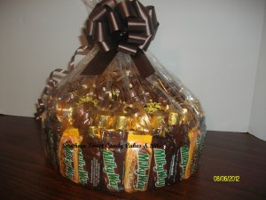 Handmade Candy Bar Cake  MilkyWay Free Shipping