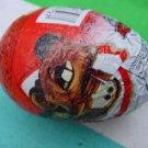 Zaini chocolate candy egg shape CARS