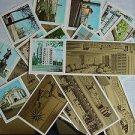 Vintage Soviet Russian LENINGRAD set of 13 Russian cards in folder 1978