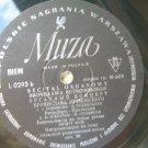 I. J. S. Bach Organ Recital By B. Rutkowsky LP Poland Muza