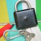 Vintage Russian Soviet Ussr Lock With 2 Keys NOS