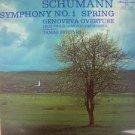 Vintage R. Schuman  Symphony No.2 Spring Genoveva Oberture Hungaroton 1976 LP