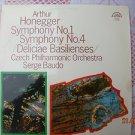 Vintage Soviet Czech Arthur Honegger Symphony No. 1 SUPRAPHON LP  1 10 1536