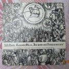Vintage Soviet Czech J. S. Bach Cantata No. 21 SUPRAPHON LP SUA 1 12 0792