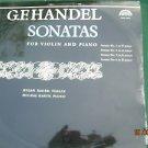 Vintage Soviet Czech G. F. Handel Sonatas SUPRAPHON LP SUA 106857