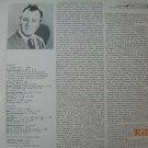 Vintage Soviet Russian Ussr Nikolai Gedda Tenor  Melodya LP M10 49579 005