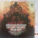 Vintage Rare  Johannes Brahms Ein Deutshes Requiem Eterna 7 29 163 LP