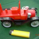 VINTAGE SOVIET USSR NORMA FACTORY FIRE TRUCK TOY PLASTIC  MISSING PARTS