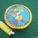 Vintage Soviet Russian Ussr  Donald Duck Candy Tin Box About 1970