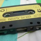 Vintage Soviet Russian Made IN USSR Svema MK-60-1Cassette Only 2x30min 1985