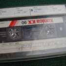 Vintage Japan Konica KX 90 Cassette  2x45 min