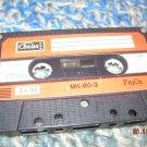 Vintage Soviet Russian Made IN USSR  SVEMA  MK-60-2 Cassette  2x30 min  1986