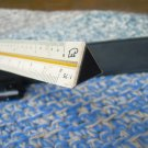 Vintage Triangle Drafting Scale Rule With Case KONSTRUKTEUR Made In Germany