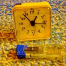 Vintage Russian Soviet Quartz Alarm Clock Jantar About 1982