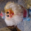 Vintage Russian Soviet Rubber Toy Ded Moroz Santa Claus 1970