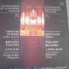 Vintage Soviet Ussr Russian Renato Fasano Vivaldi Four Concertos Melodya LP
