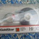 Vintage GoldStar Cassette Tape HP  90