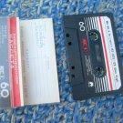 Vintage Soviet Russian USSR Kontak  MK-60-5 Cassette  2x30 min Black