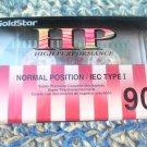 Vintage GoldStar Cassette Tape HP 90  NOS