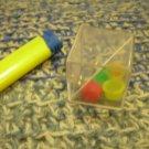 ORIGINAL COLOR CAPS & METAL BALLS IN A CUBE PUZZLE LOGIC GAME BRAIN TRAINER