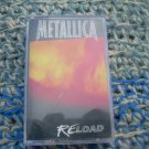 Metallica Reload Cassette Polish Release Made In Poland