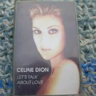 Celine Dione Let's Talk About Love Cassette Polish Release Made In Poland