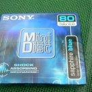 Sony Saphire Blue MDW80EL  Minidisc MD