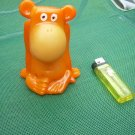 Vintage USSR Soviet Russian Rubber Toy Monkey About 1970