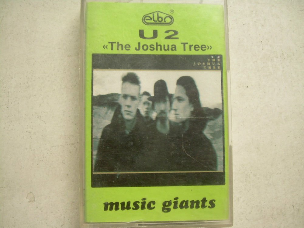 U2 The Joshua Tree  Cassette Polish Release Made In Poland