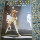 Freddie Mercury Living On My Own Cassette Polish Release Made In Poland