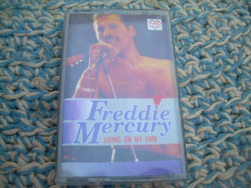 Freddie Mercury Living On My Own  Audio Cassette  Made In Poland Polish Press