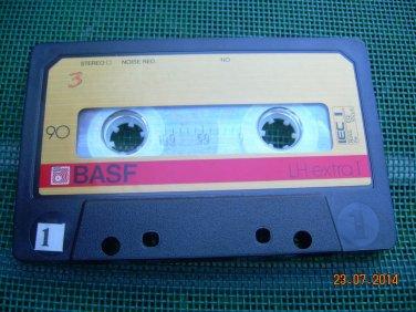 Rare Vintage BASF LH Extra I C-90 Cassette
