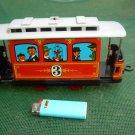 Vintage  Soviet USSR Russian Toy Tin Train Tramway
