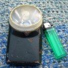 Antique Rare Soviet Russian Ussr Metal Enamel Plastic Flashlight About 1970