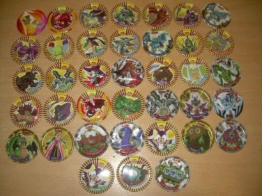 Pokemon CHIPZ Lot #1 About 8 Years Old