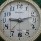 Vintage Soviet Russian Ussr Alarm Wind Up Big Clock Jantar