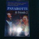 PAVAROTTI & FRIENDS 2 CASSETTE POLISH RELEASE MADE IN POLAND