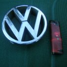 VOLKSWAGEN FRONT GRILL CHROME EMBLEM SIGN OEM MADE IN GERMANY