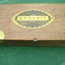 ANTIQUE RARE WOODEN CIGAR BOX BANKETT WERBLOWSKY FACTORY JEWISH LITHUANIA 1935