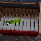 VINTAGE TOY PIANO NOT COMLETE MADE IN EAST GERMANY DDR GDR 1970