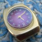 Vintage Soviet Russian Ussr Ladies 10AU Gold Plated Wristwatch ZARIA 1970