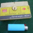 Rare Vintage Soviet Russian Ussr Legenda 404 LW Radio Casette Add On From 1977
