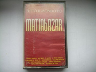 Matiabazar Tutto IL Mondo Dei Cassette Polish Release Made In Poland