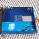 L241 SONY MINIDISK BLUE COLOR 80 SHOCK ABSORBING SEALED NOS